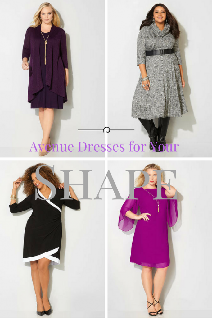 hourglass, triangle, apple or pear shaped, dresses for your shape, incredible dresses for all plus sizes