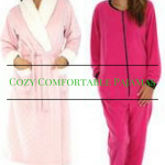 cozy pajamas for christmas, cozy pjs for her, comfortable pjs for her
