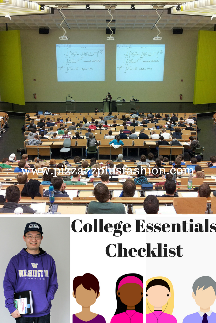 college clothing essentials, college essential checklist, back to college essentials